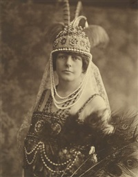 bal masque vert, which was hosted by mr. and mrs. h. edward manville (album of 35) by albert dupont
