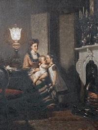 la jeune mère by pieter willem sebes