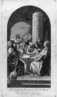 l'ultima cena by giovanni battista tiepolo