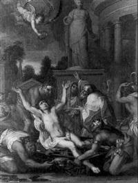 martyre de saint laurent by jean-baptiste corneille