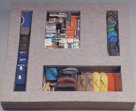 airplane goods by jac leirner
