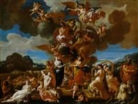 il paganesimo rende omaggio al cristianesimo by alessandro marchesini
