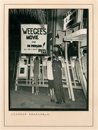 double feature by weegee