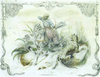 la chasse au tigre by edmond fabre