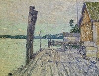 intracoastal waterway scene by william chadwick
