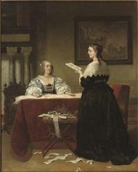 the seamstresses by johann cornelius mertz