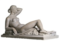 the original maquette of the muse allongée by louis eugène dejean