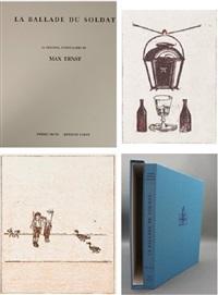 ballade du soldat (portfolio w/34 works) by max ernst
