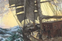 trimming the sails by montague dawson