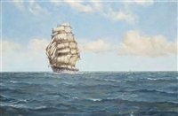 the golden fleece in the tradewinds by montague dawson