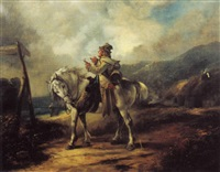a journeyman on horseback by james barry