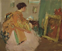 an artistic reverie by richard edward miller