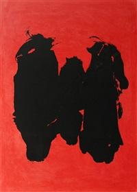 three figures by robert motherwell