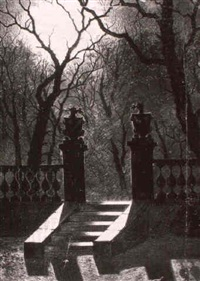 moonlit gardens by j. foster