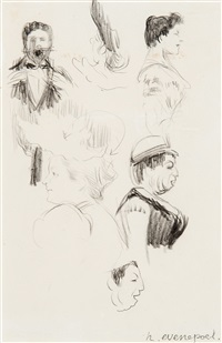 étude de figures (study) by henri evenepoel