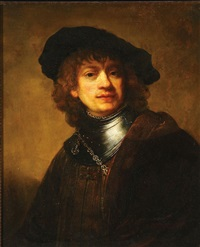 rembrandt self portrait by ezio ricci