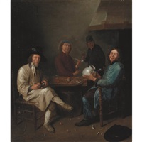 tavern scene by jan steen