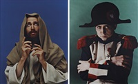 jesus (from the series the life of remarkable monroe)(+ napoleon (from the series the life of remarkable monroe); 2 works) by vladislav mamyshev-monroe