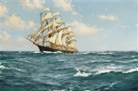 pacific days, the shun lee, 674 tons, built in 1866 by montague dawson
