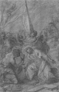 la montée au calvaire (?) by giovanni battista pacetti