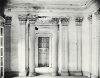 breakfast room, belle grove plantation, white chapel, louisiana by walker evans