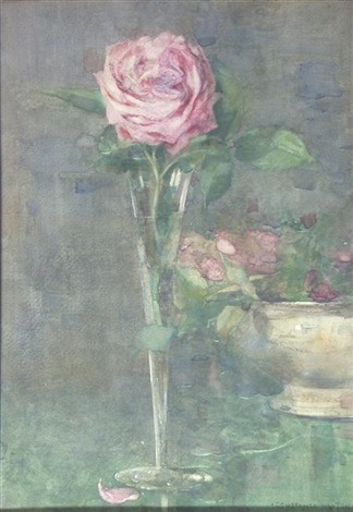 pink rose by constance walton