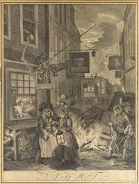 la nuit by william hogarth