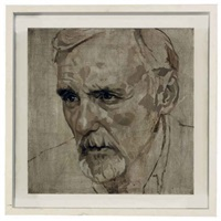 untitled (portrait of dennis hopper) by jonathan yeo