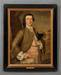 portrait of thomas child (1730-1787) by john greenwood