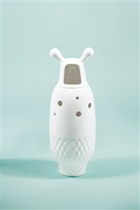showtime vase 5 - white by jaime hayon