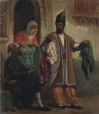 the persian rug dealer by jan baptist huysmans