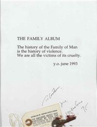 untitled (the family album) by yoko ono