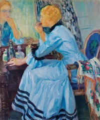 the blue robe by edward cucuel
