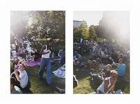 (i) we summer (left)(ii) we summer (right)(set of 2) by wolfgang tillmans