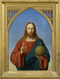christus als weltenrichter by johan peter von götting