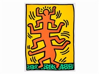 growing i by keith haring