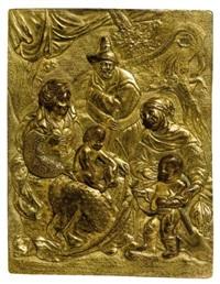 the holy family by paulus willemsz van vianen