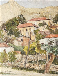 spring day in balchik by marcel enescu