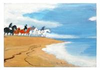 cavaliers sur la dune by andré brasilier