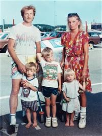 familjen matsson, b&w stormarknad, göteborg by anders kristensson
