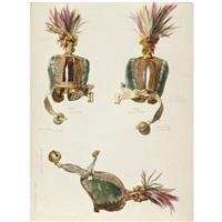 studies of a hawk's hood by william maw egley