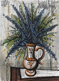 bouquet bleu by bernard buffet