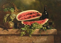 nature morte à la pastèque by claire julienne noble-pijeaud