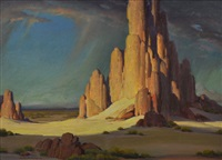 shiprock by clyde forsythe