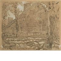 home sweet home cottage #1, easthampton, long island (john howard payne house) by childe hassam