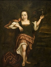 portrait (duc de norfolk enfant?) by abraham lambertsz jacobsz van den tempel