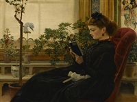 her favorite pastime by george dunlop leslie