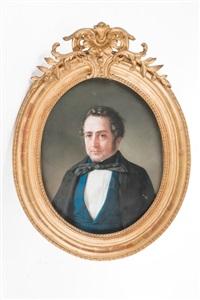 retrato de caballero by giuseppe alessandria