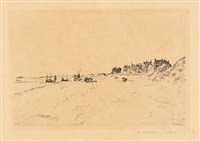 la plage de la panne by james ensor