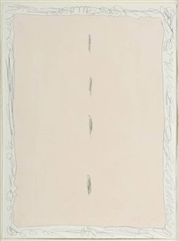 composition spatiale by lucio fontana